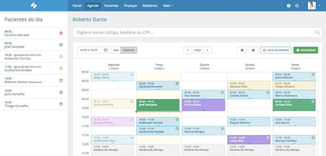 Sistema medico de agendamento para consultorios e clinicas