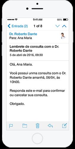 Sistema médico iphone