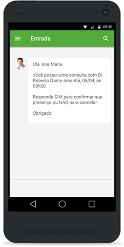Software medico para clininica acessivel do celular